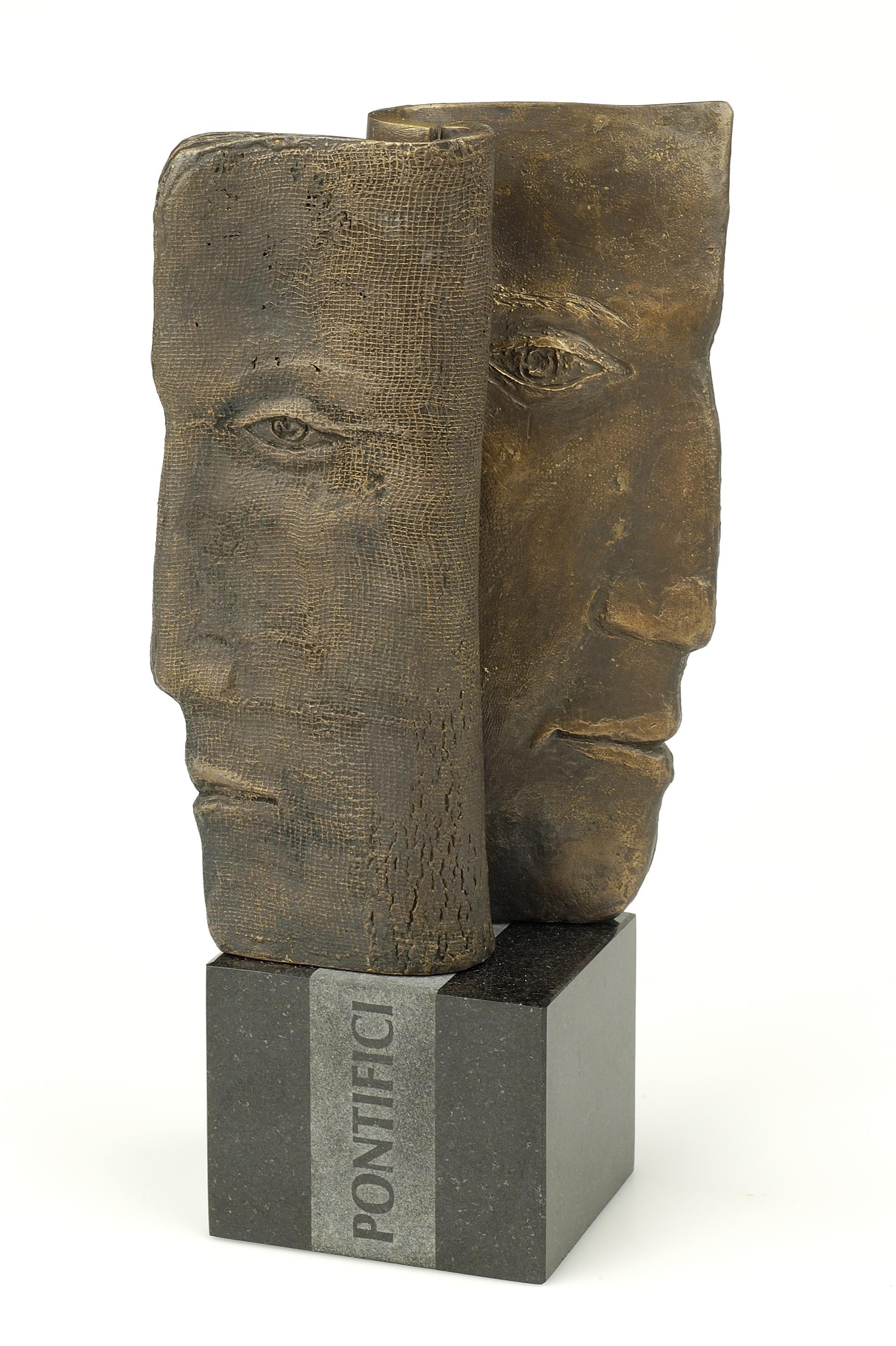 Statuetka Pontifici - awers