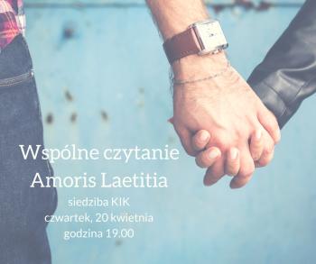 Wspólne czytanie Amoris Laetitia