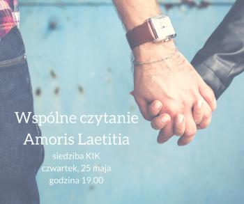 Wspólne czytanie adhortacji Amoris Laetitia