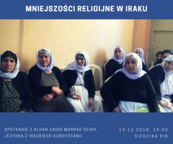 Mniejszości religijne w Iraku. Spotkanie z Jezydką z Irackiego Kurdystanu