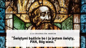 Rekolekcje adwentowe w kościele św. Marcina