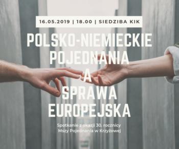 Polsko-niemieckie pojednania a sprawa europejska