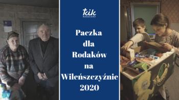 Paczka dla kombatantów i polskich Rodzin na Wileńszczyźnie