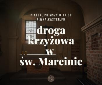 Nabożeństwo Drogi krzyżowej w kościele św. Marcina