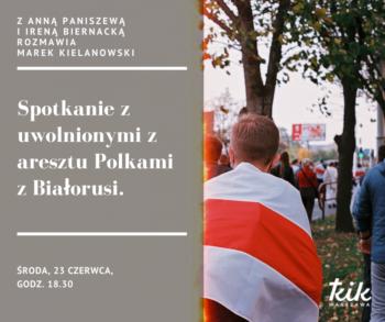 Spotkanie z uwolnionymi z aresztu Polkami z Białorusi